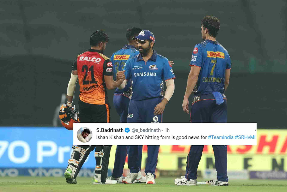 IPL 2021, SRH vs MI: Sunrisers Hyderabad lost to Mumbai Indians by 42 runs in a high scoring game, Mumbai out of playoffs race.