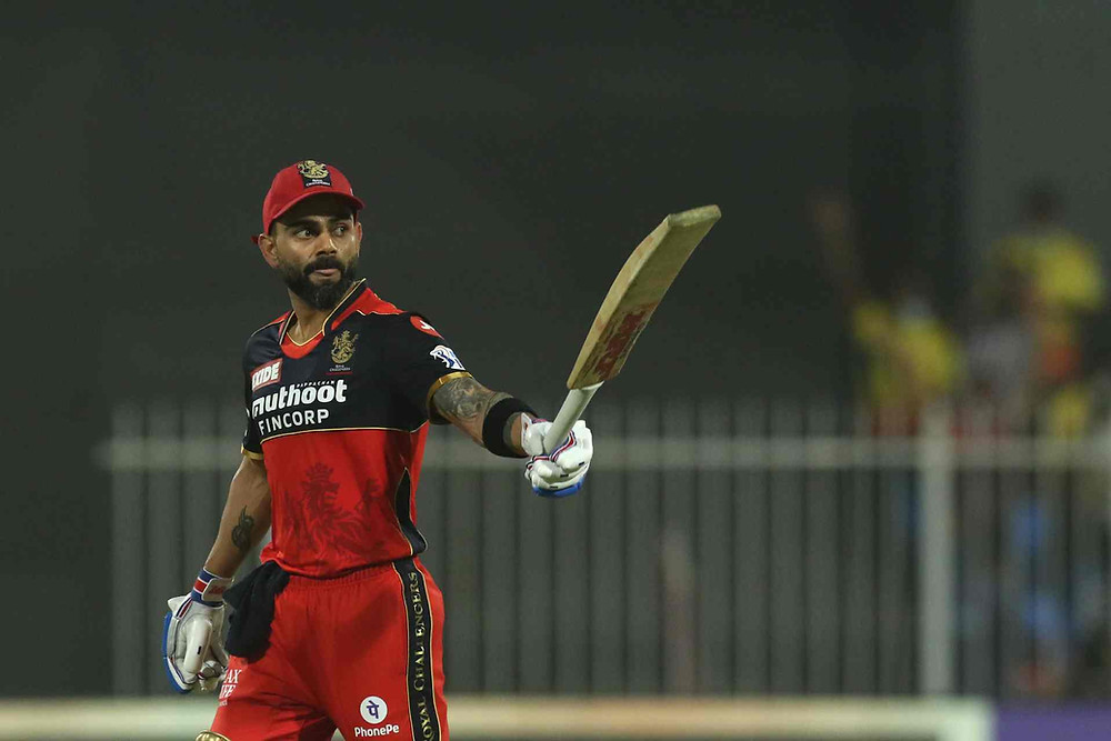IPL 2021, RCBvsCSK: Virat Kohli scores half century (53) against CSK at Sharjah. CSK beat RCB by six wickets at Sharjah.