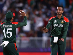ICC T20 World Cup 2021 – Round 1 - Shakib's all-round hand (46, 4/9) takes Bangladesh to Super 12