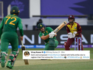 ICC T20 WC 2021 - Super 12 - Proteas turn in clinical performance, squarely beat WI by 8 wickets