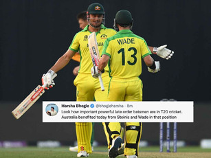 ICC T20 WC 2021 - Super 12, Aus vs SA - Stoinis, Wade carry Australia home in low-scoring thriller