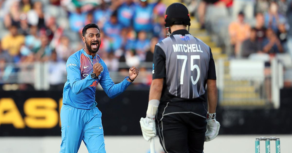 India vs New Zealand 2nd T20Is Daryl Mitchell DRS Controversy