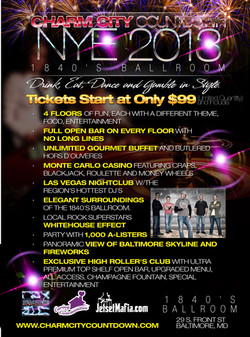 2013 New Years Charm City Countdown