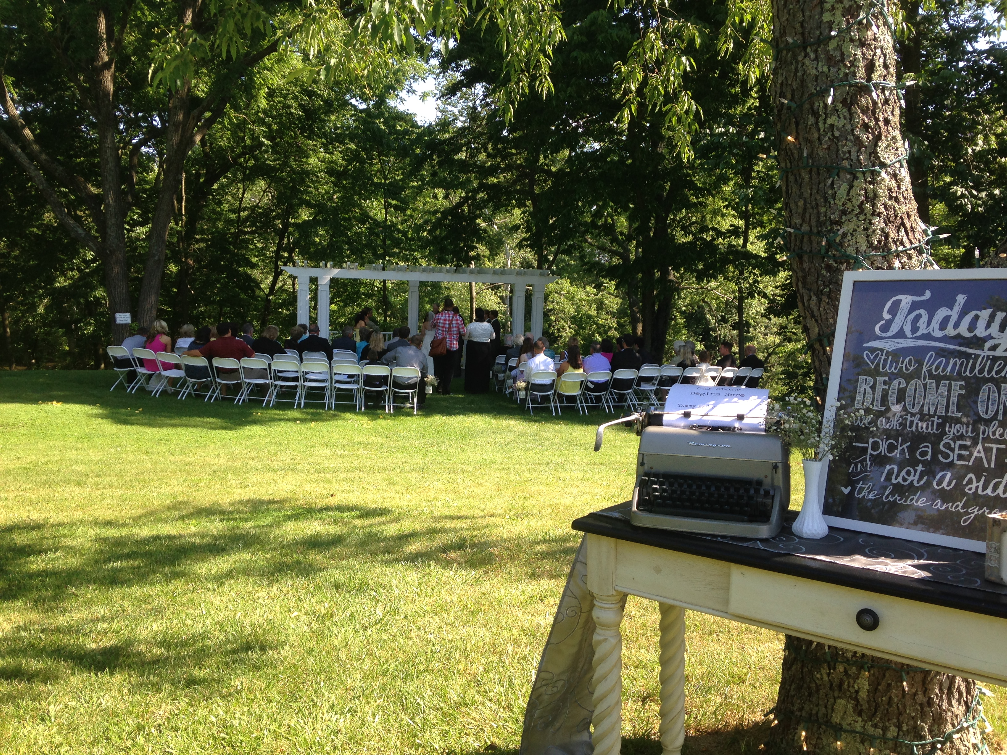 Dilley Wedding - Charm City DJing