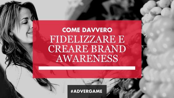 advergame: fidelizzazione del cliente e brand awareness