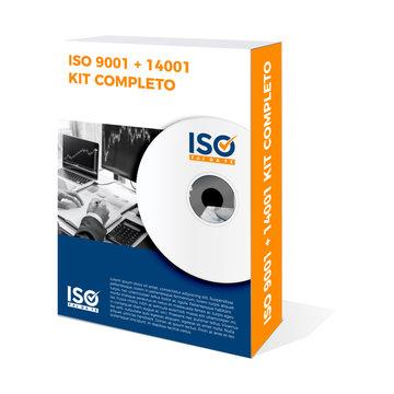 Kit Completo Iso 9001:2015 e 14001:2015