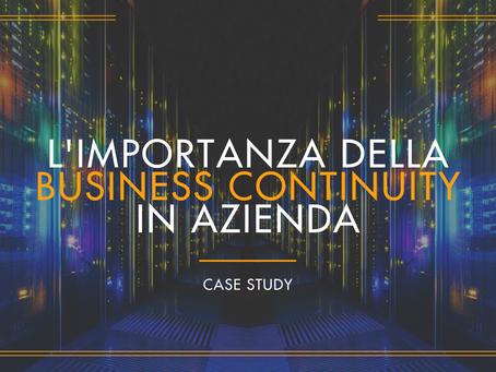 L'Importanza della Business Continuity in Azienda