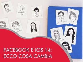 Facebook e Ios 14: ecco cosa cambia