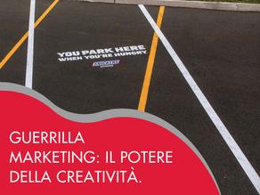 Guerrilla Marketing: il potere della creatività