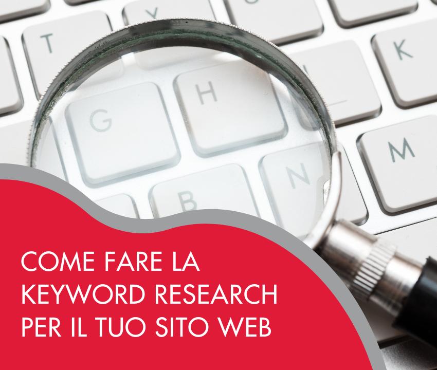 esempio pratico su come fare una keyword research