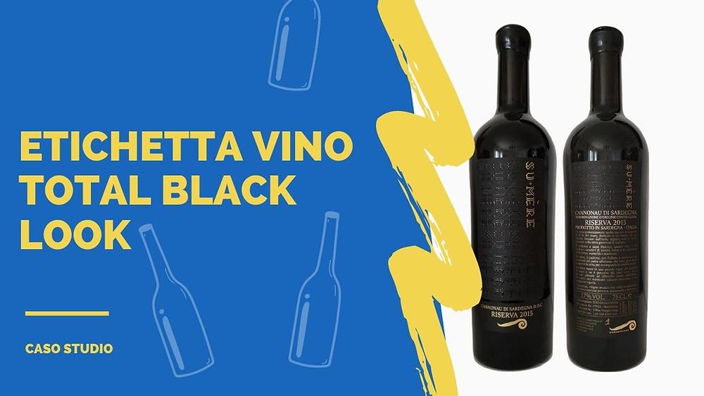 esempio di etichetta vino con carta fedrigoni art convert
