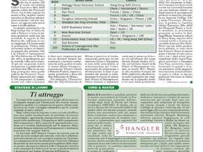 Italia Oggi parla di noi nella sezione Corsi e Master