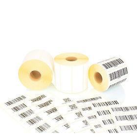 esempio di stampa di etichette industriali con codice a barre