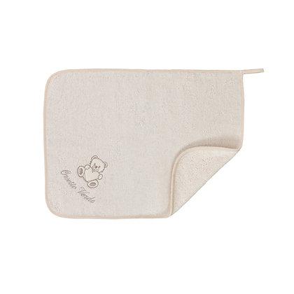 Telo spugna neonato in cotone Oeko-Tex®