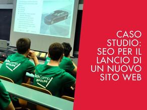 Caso studio Tech Camp: SEO per il lancio di un nuovo sito web