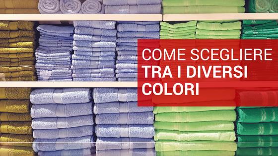 Noleggio lenzuola e asciugamani, come scegliere i colori