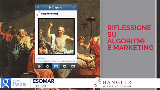 Algoritmo Instagram: riflessioni su algoritmi e marketing moderno