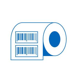 esempio di etichette trasferimento termico