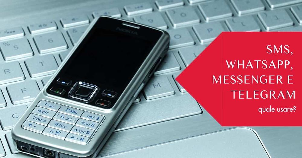 inviare sms massivi o altri messaggi?