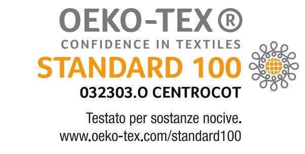 certificazione OekoTex Standard 100 di Orio Team