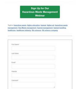 call to action iscrizione al webinar
