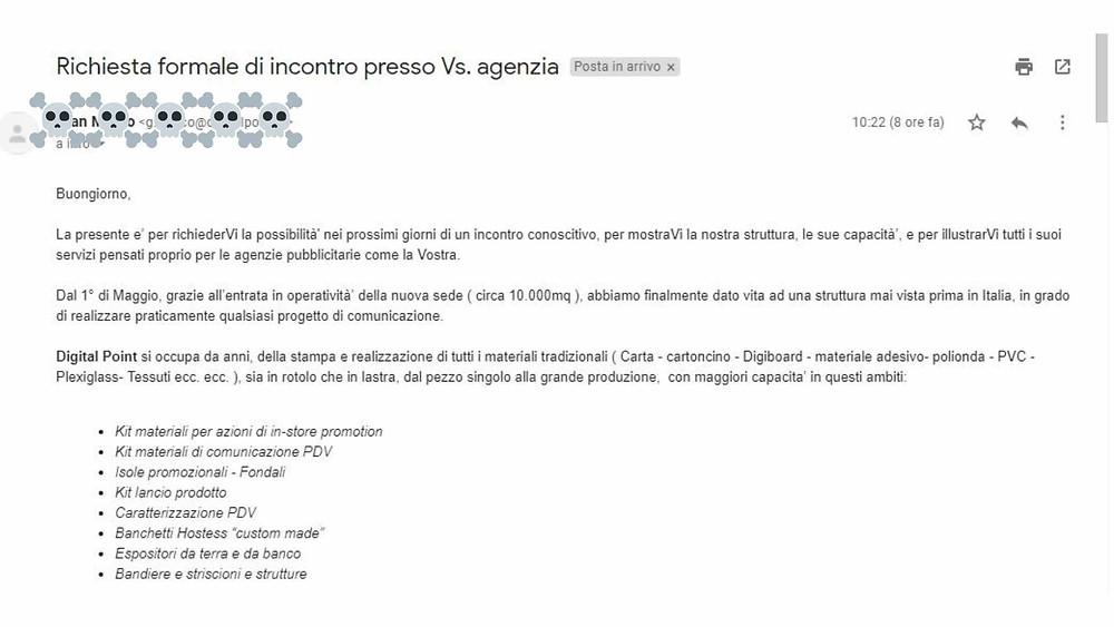 email-di-vendita