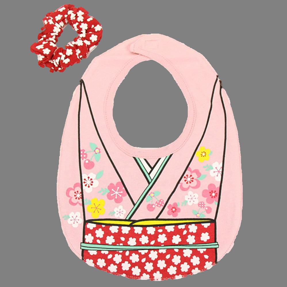 bavaglino personalizzato in stile asiatico