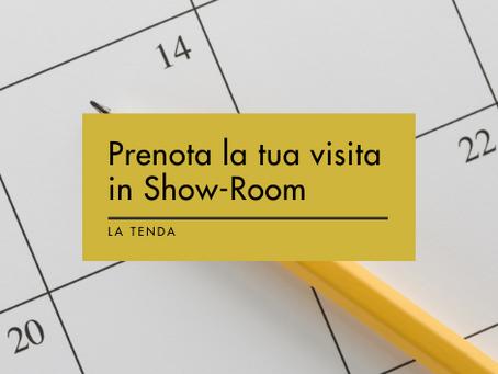 Prenota la tua visita in Show-Room