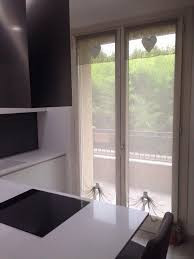tende a vetro cucina bianche