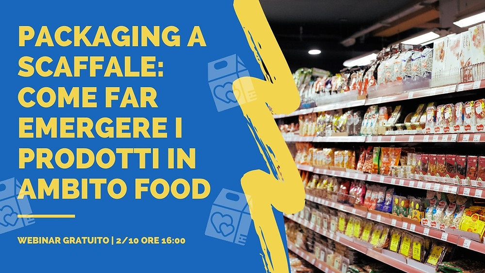webinar packaging e vendite in ambito food