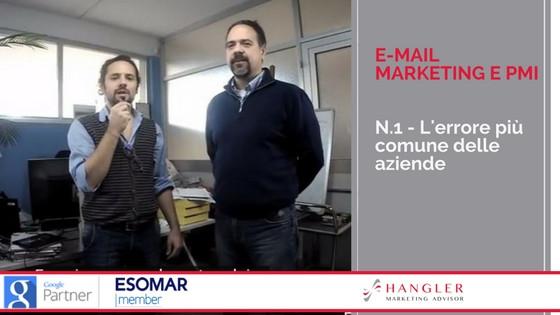 e-mail marketing: scopri l'errore più comune che si commette in azienda
