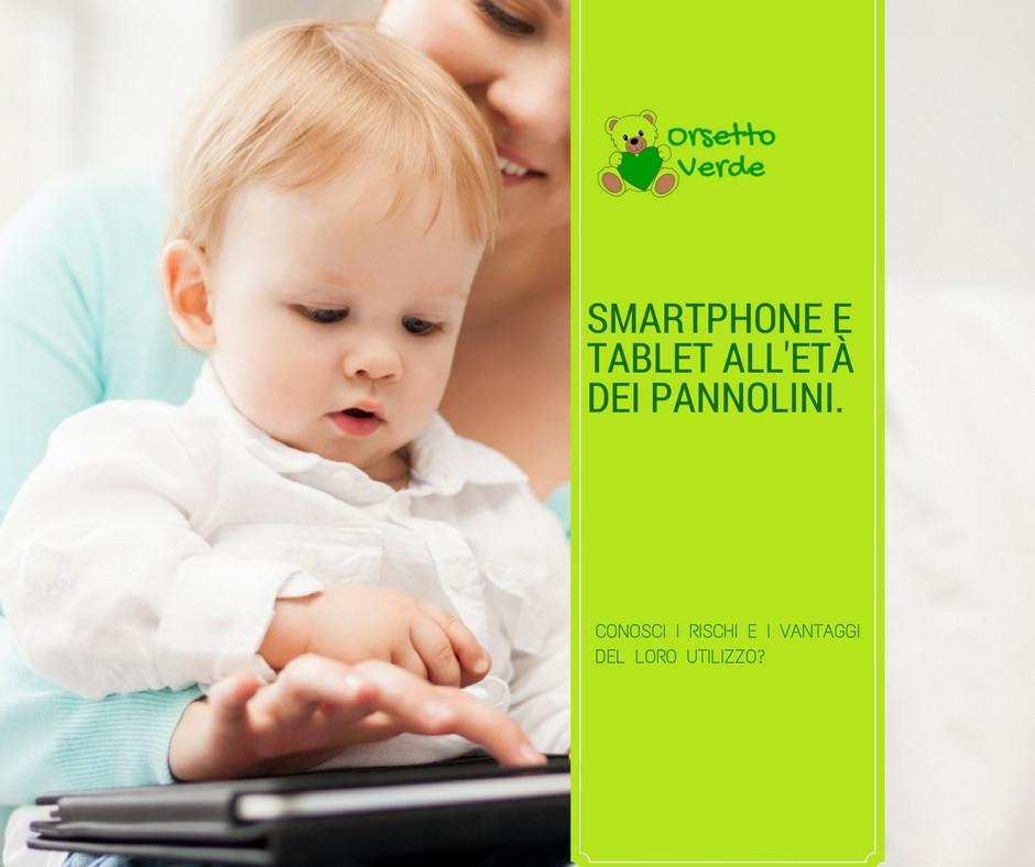 pericoli di smarthpone e tablet per i bambini