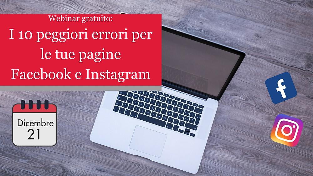 Webinar Facebook e Instagram
