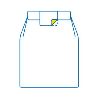 esempio di etichette apri e chiudi