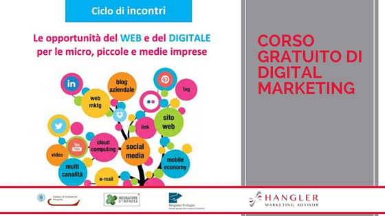 corso gratuito di digital marketing a Bergamo