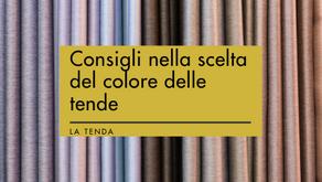 Come scegliere il colore delle tende