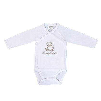 Body neonato in cotone biologico