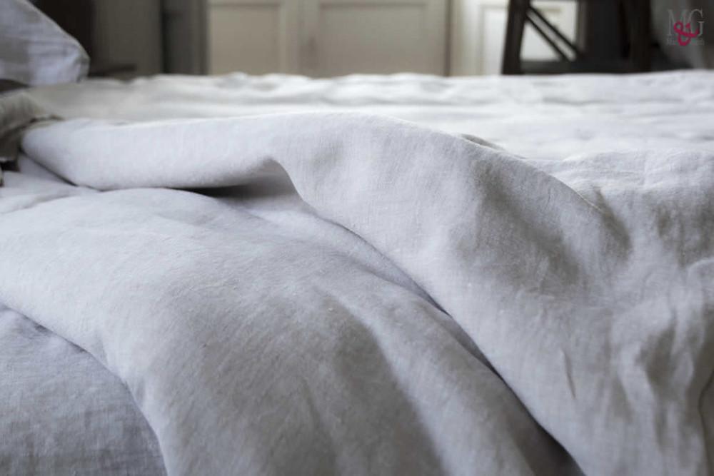Biancheria letto in lino