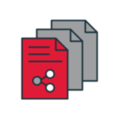 esempio di documenti realizzati durante l'attività di content marketing