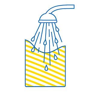 esempio di etichette ecologiche wash-off