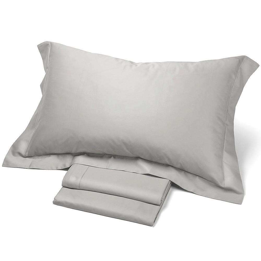 biancheria letto in raso puro cotone