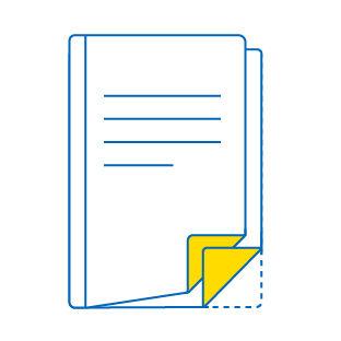 esempio di etichette multipagina tipo booklet