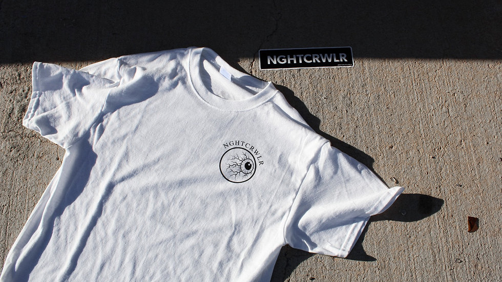 """""""Nightmares in the daytime"""" White Tee"""