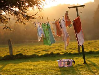 Receitas para Casa: Lavar Roupa