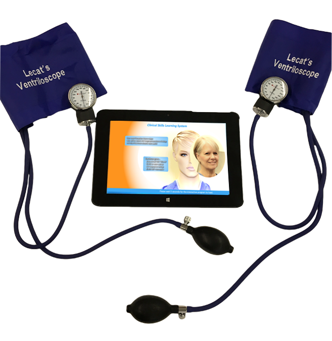 Lecat's Clinical Skills Training System - Simulation Stethoscope Accessory