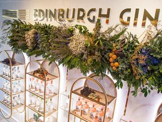 The amazing decor for Edinburgh Gin Shop