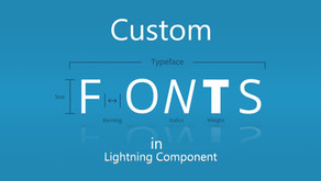 Use Custom font in Lightning Component