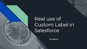 Misconception about Custom Labels in Salesforce