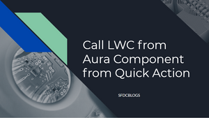 Call Lightning Web Component from a Quick Action.