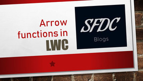 Arrow function in Lightning Web Component (LWC)